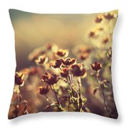 Les Larmes Dautomne Throw Pillow by Taylan Apukovska