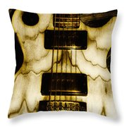 Les Paul - Blondes Have More Fun Throw Pillow