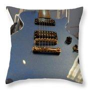 Les Paul Gibson Throw Pillow