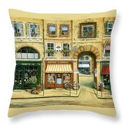 Les Rues De Paris Throw Pillow