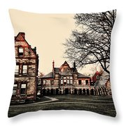 Lesley University-cambridge Boston Throw Pillow