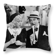Lessons In Eating Celery Throw Pillow