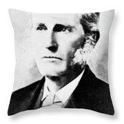 Lester Frank Ward (1841-1913) Throw Pillow