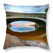 Lester River Mouth Throw Pillow