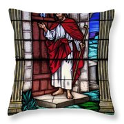 Let Him Into Your Heart Throw Pillow