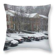 Let It Snow Snow Snow Throw Pillow