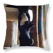 Let Me Help You Up Throw Pillow