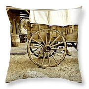 Let The Old Times Roll Throw Pillow