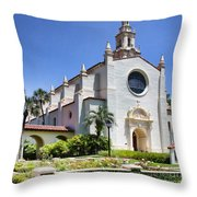 Let There Be Light Knowles Memorial Chapel 1 By Diana Sainz Throw Pillow