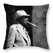 Let Us Burn One From End To End.. Throw Pillow