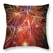 Let Us Celebrate Throw Pillow