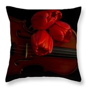 Let Us Make Beautiful Music Together Throw Pillow