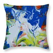 Let Your Spirit Rise Throw Pillow