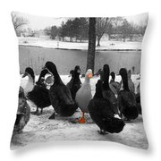 Let Yourself Stand Out Throw Pillow