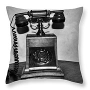 Lets Communicate Throw Pillow