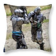 Lets Fight Throw Pillow