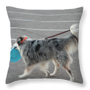 Lets Go Throw Pillow