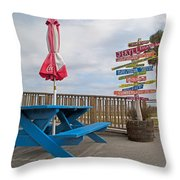 Let's Have A Picnic Jekyll Island Throw Pillow