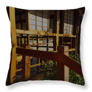 Lets Have Tea Throw Pillow