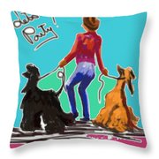 Lets Party Throw Pillow