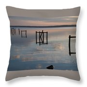 Lets Play Croquet Throw Pillow