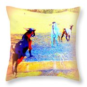 Lets Run Away From Everything And Start A New Life  Throw Pillow