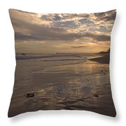 Let's Walk This Evening Throw Pillow