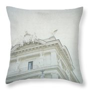 Letters From Roma II Throw Pillow
