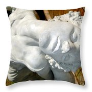 Letting Go Throw Pillow by Ed Weidman