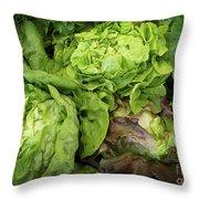 Lettuce Go Forward Throw Pillow
