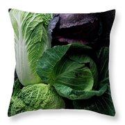 Lettuce Throw Pillow
