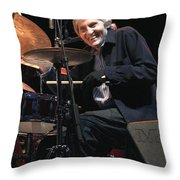 Levon Helm And His All Star Band Throw Pillow