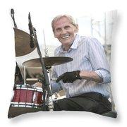 Levon Helm Band Throw Pillow
