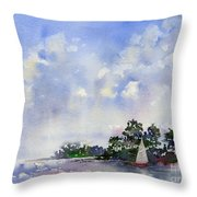 Leeward The Island Throw Pillow