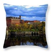 Lewiston Mill Throw Pillow