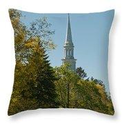 Lexington Battlefield  Throw Pillow