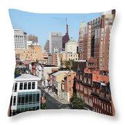 Lexington Street Throw Pillow