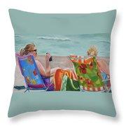 Ladies' Beach Retreat Throw Pillow