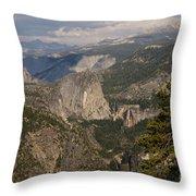 Liberty Cap And The Falls Throw Pillow