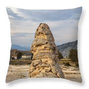 Liberty Cap In Yellowstone Throw Pillow