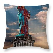 Liberty For All Throw Pillow