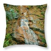 Liberty Gorge Falls Throw Pillow