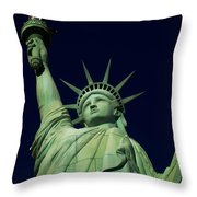 Liberty New York Casino Throw Pillow