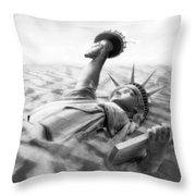 Liberty Park II Panoramic Throw Pillow