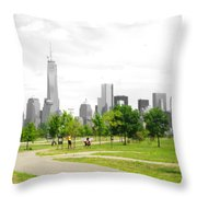 Liberty Park Throw Pillow