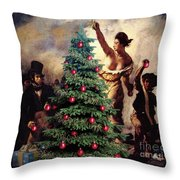 Liberty Places Star On The Tree Throw Pillow