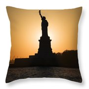 Liberty Sunset Throw Pillow