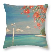 Liberty Throw Pillow by The Beach  Dreamer