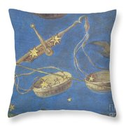 Libra Constellation Zodiac Sign 1575 Throw Pillow by Science Source