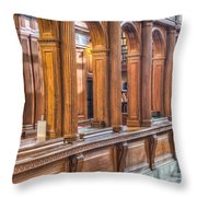 Library Book Return I Throw Pillow